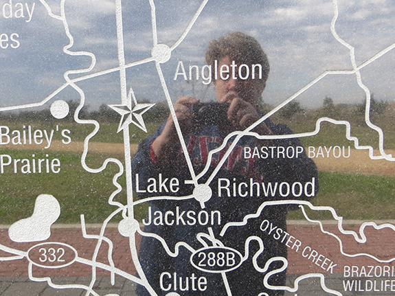 Map of Lake Jackson area