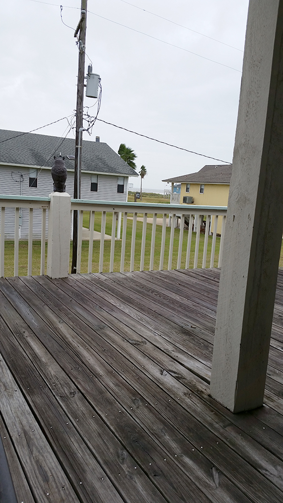 Beach cabin on Bolivar Peninsula
